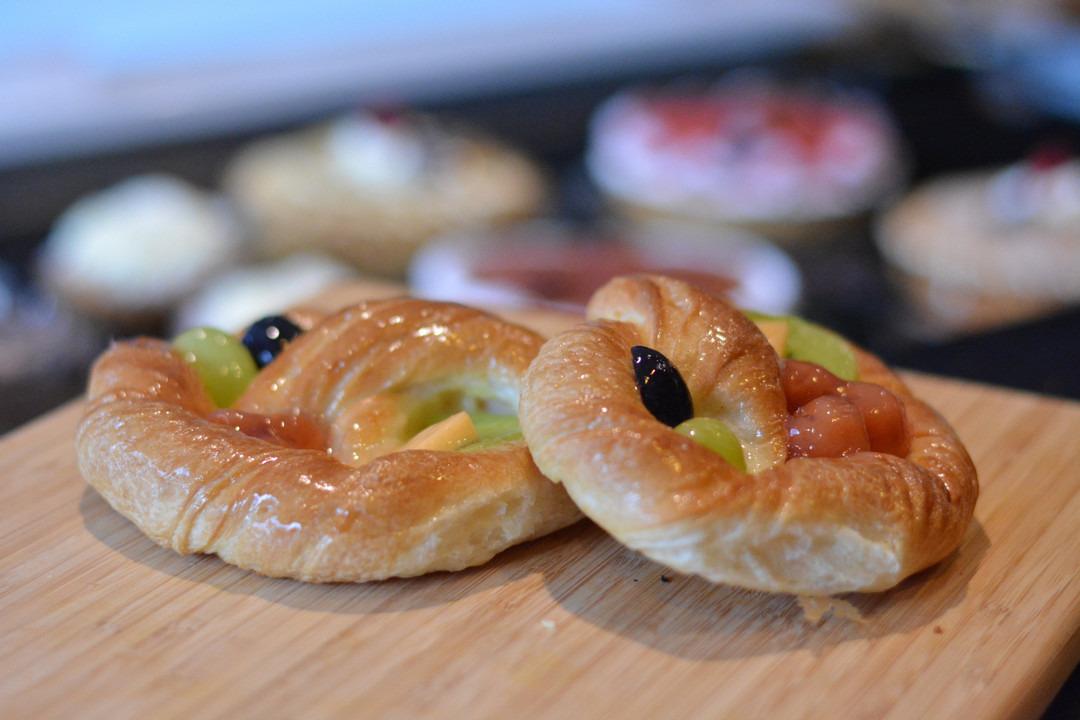 Koek met vers fruit - Bestelonline