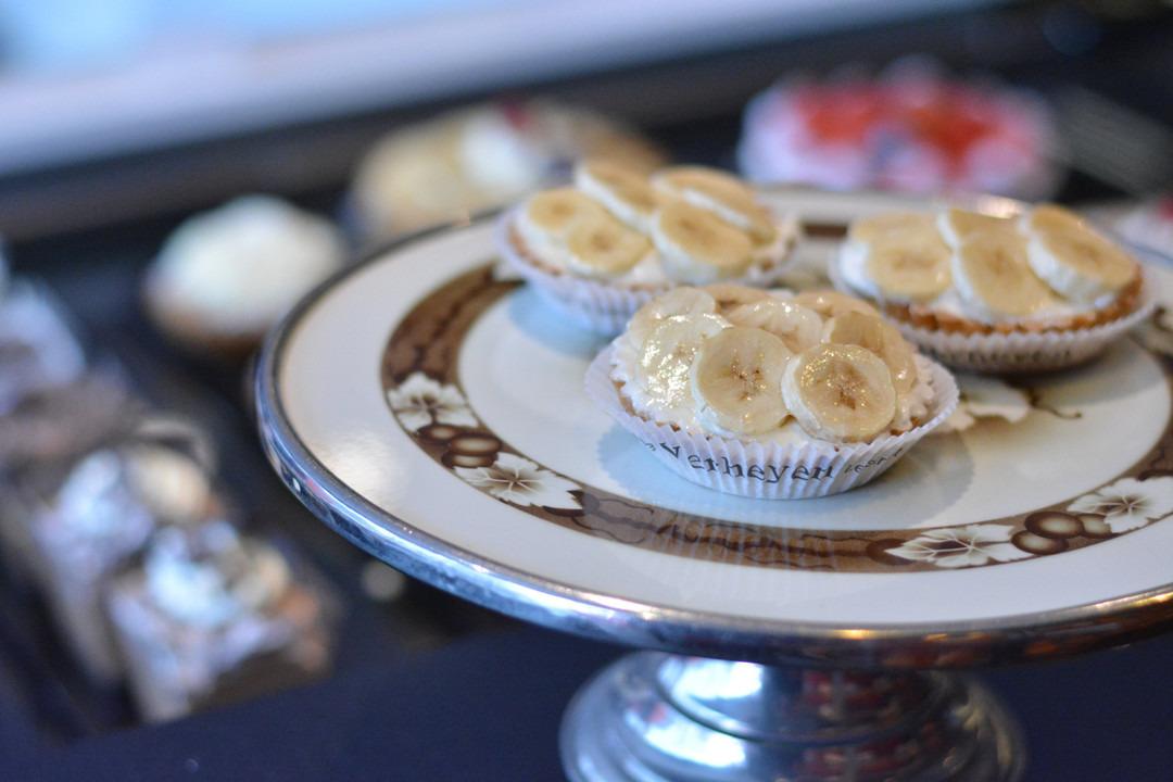 Bananentaartje (1 pers.) - Bestelonline