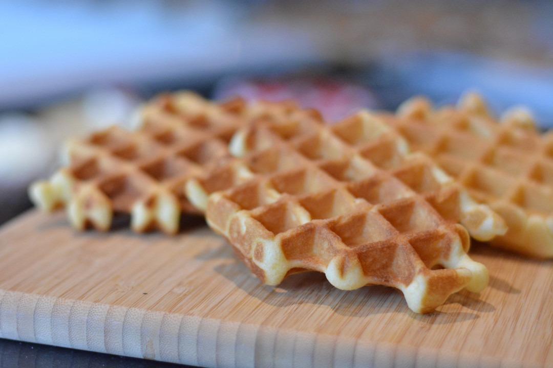 Vanillewafels met echte boter - Bestelonline