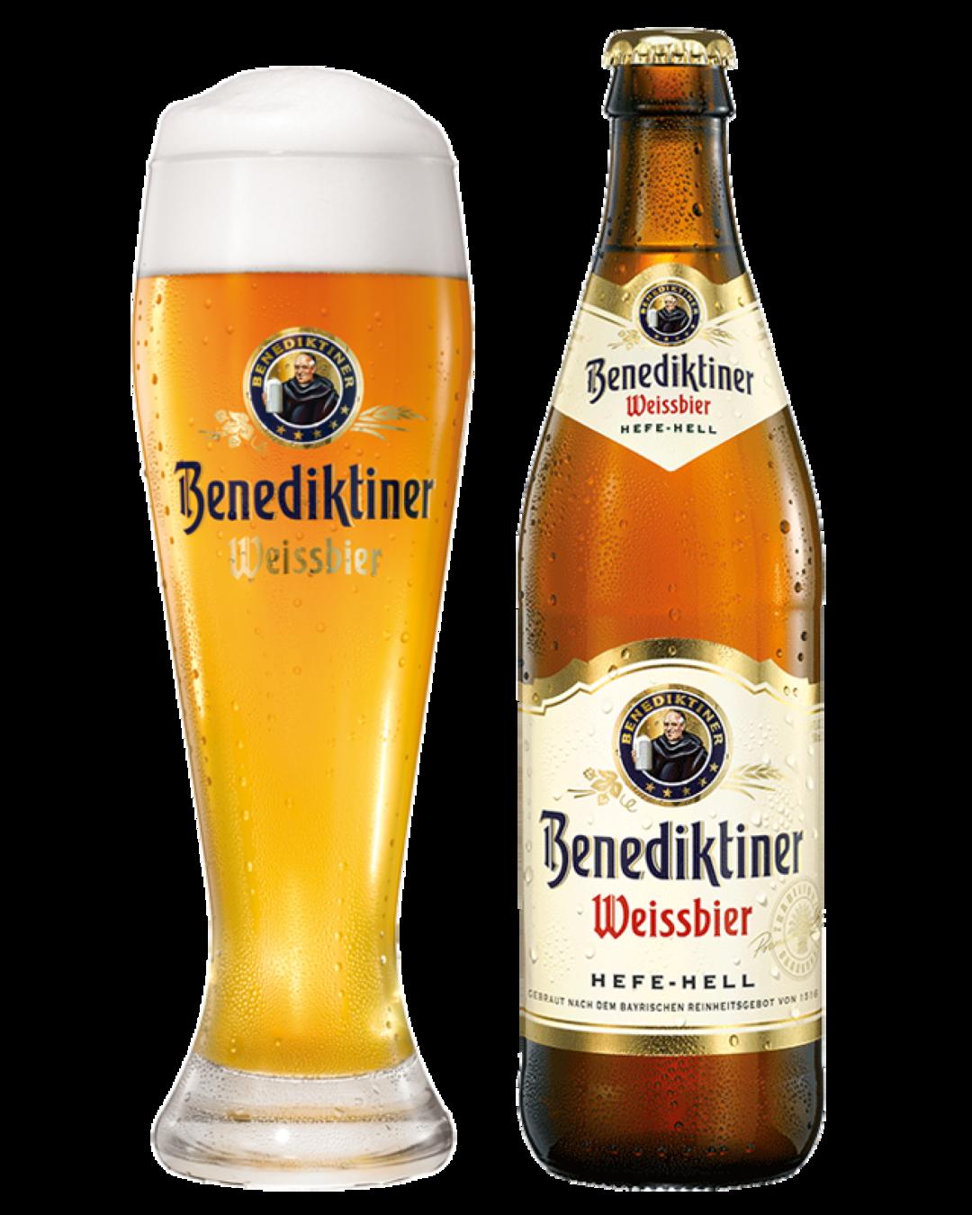 Benedikter Weissbier Fles 50cl (5.4%) - Bestelonline